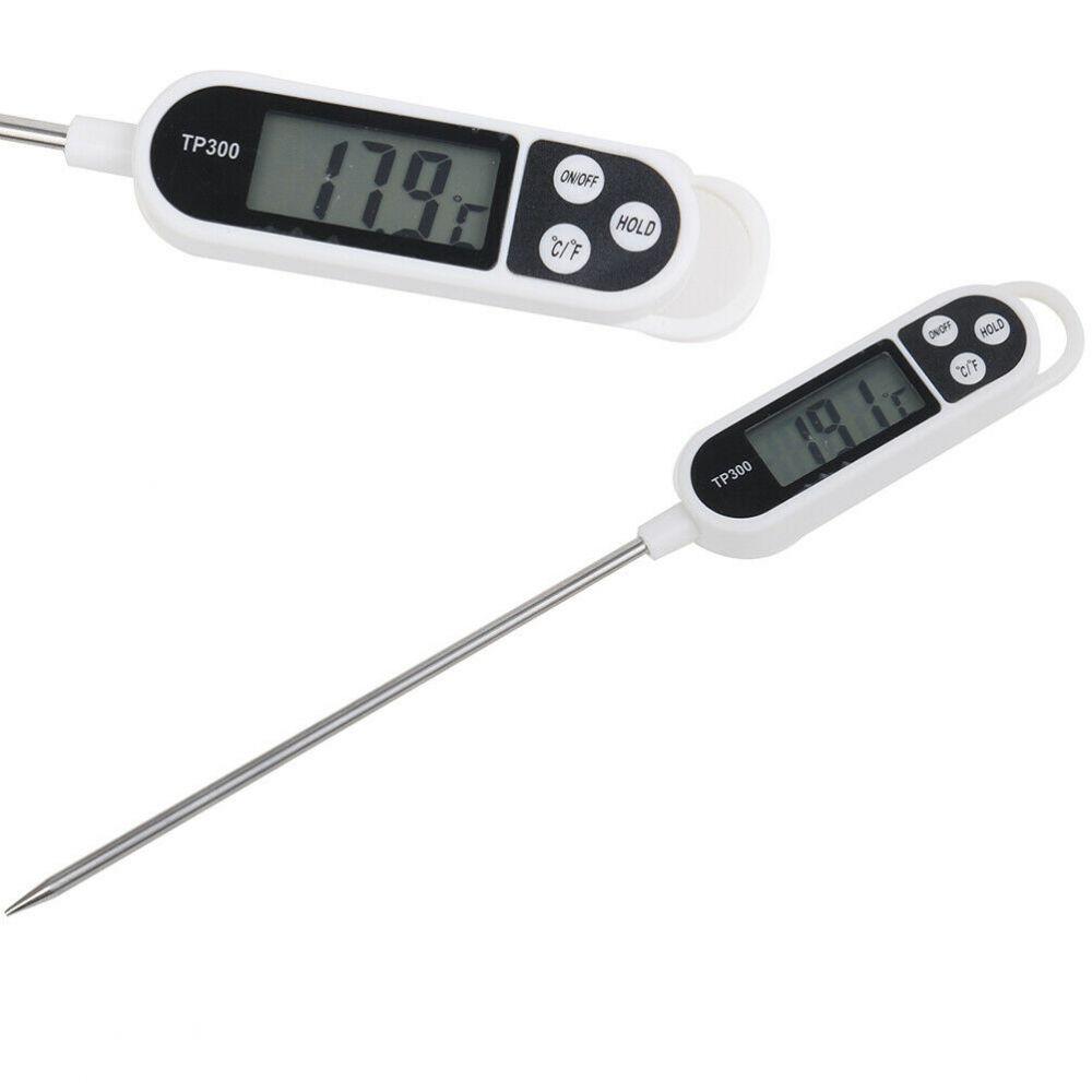 Jehlový digitální teploměr TP300 pro měření teploty potravin včetně baterie